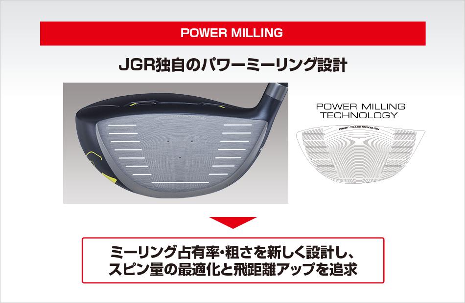 JGR公式パワーミーリング